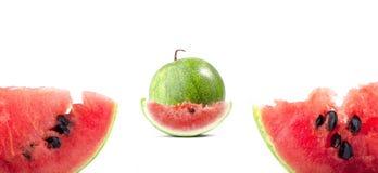 新鲜的西瓜 免版税库存照片