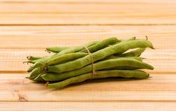 新鲜的豌豆雪 库存照片