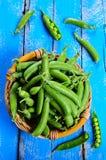 新鲜的豌豆 库存图片