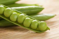 新鲜的豌豆 免版税图库摄影