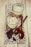 新鲜的酸奶 免版税图库摄影