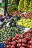 新鲜的销售额蔬菜 库存照片
