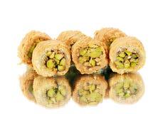 新鲜的阿拉伯甜点 库存照片