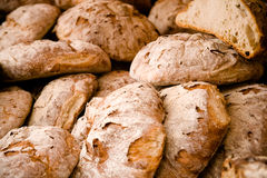 新鲜的面包 免版税库存图片