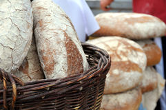 新鲜的面包 免版税库存照片