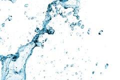 新鲜的飞溅水 免版税库存图片
