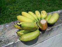 新鲜的香蕉 免版税库存图片