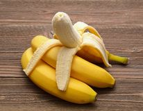 新鲜的香蕉 图库摄影