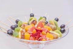 新鲜的鲜美健康果子 免版税库存照片