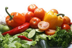 新鲜的鲜美蔬菜 图库摄影