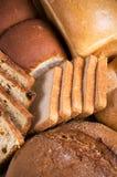 新鲜的鲜美面包店静物画 免版税库存图片