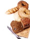 新鲜的鲜美面包 免版税图库摄影