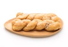 新鲜的黄油卷面包 库存照片