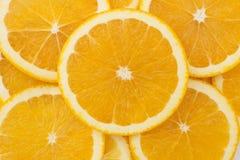 新鲜的水多的桔子 库存图片