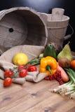 新鲜的水果和蔬菜健康的 免版税库存图片