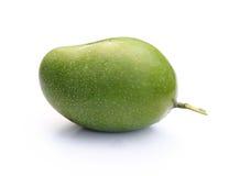 新鲜的绿色芒果 免版税库存照片