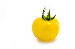 新鲜的黄色蕃茄 免版税库存照片