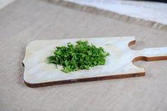 新鲜的绿色茴香 免版税库存照片