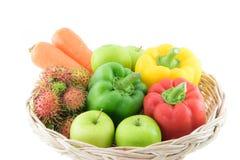 新鲜的组蔬菜 库存图片
