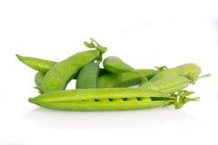新鲜的绿豆 免版税库存图片