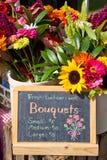 新鲜的bouquests 免版税库存图片