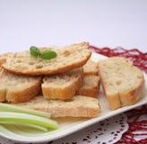 新鲜的ciabatta面包 库存图片