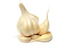新鲜的garlics 免版税图库摄影