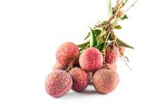 新鲜的lychee  免版税库存照片