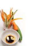新鲜的pinzimonio快餐开胃菜 免版税库存图片