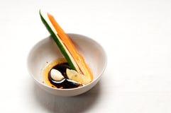 新鲜的pinzimonio快餐开胃菜 免版税库存照片
