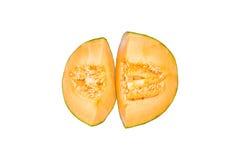 新鲜的Rockmelon 免版税库存照片