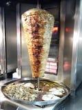 新鲜的shawarma 免版税库存图片
