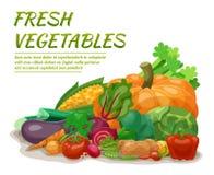 新鲜蔬菜例证 皇族释放例证