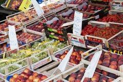 新鲜蔬菜市场 免版税库存照片