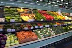 新鲜蔬菜杂货店超级市场 库存图片