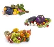 新鲜蔬菜的汇集 库存图片