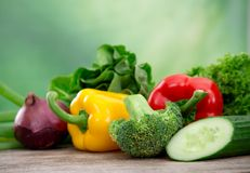 新鲜蔬菜 图库摄影
