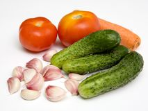 新鲜蔬菜 免版税库存图片