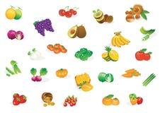 新鲜蔬菜 库存例证