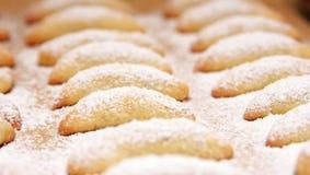 新鲜被烘烤的曲奇饼 库存图片