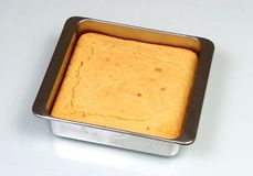 新鲜被烘烤的面包的玉米 库存照片