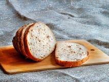 新鲜被烘烤的面包 图库摄影
