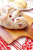 新鲜被烘烤的面包 免版税库存图片
