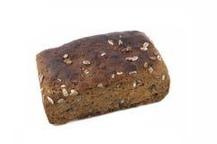 新鲜被烘烤的鲜美黑面包 库存照片