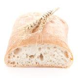 新鲜面包的ciabatta 库存照片