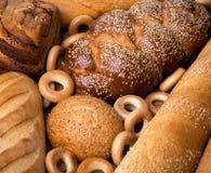 新鲜面包静物画 免版税库存照片