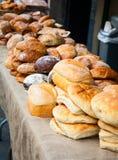 新鲜面包 免版税库存照片