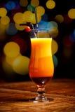 新鲜鸡尾酒的饮料 免版税库存图片