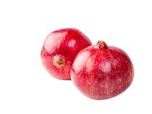 新鲜,成熟,有机石榴果子。 图库摄影