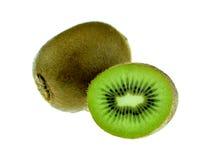 新鲜水果查出的猕猴桃白色 免版税图库摄影